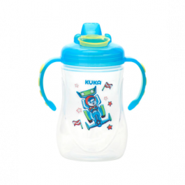 Caneca decorada fun Kuka azul 300 mL Ref.53992
