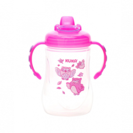 Caneca decorada fun Kuka rosa 300 mL Ref.53991