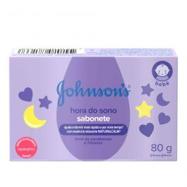 Johnson's baby sabonete em barra hora do sono 80g Ref.2943